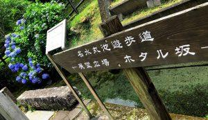 丸池湧水ホタル坂の看板の写真3